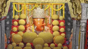 Location moti dungri ganesh temple
